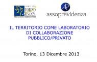 Il territorio come laboratorio di collaborazione pubblico/privato