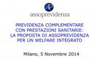 Previdenza complementare con prestazioni sanitarie: la proposta di Assoprevidenza per un welfare integrato