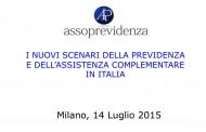 I nuovi scenari della previdenza e dell'assistenza complementare in Italia