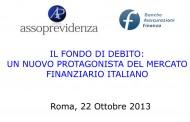 Il fondo di debito: un nuovo protagonista del mercato finanziario italiano