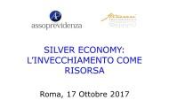 Silver Economy: l'invecchiamento come risorsa