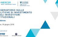 Osservatorio sulle politiche di investimento degli investitori istituzionali