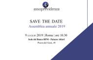 Assemblea Annuale 2019 di Assoprevidenza